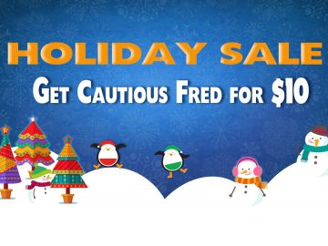 Cautious Fred – Holiday Sale
